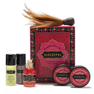 Kama Sutra Weekender Kit - Strawberry