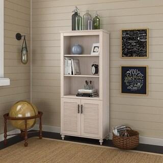 kathy ireland Office Volcano Dusk Bookcase with Doors