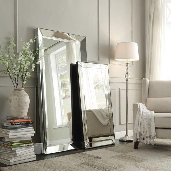 Omni Beveled Mirrored Frame