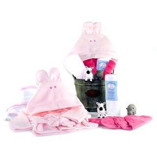 Bath Time Baby Girl Gift Assortment