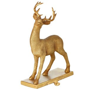 Sage & Co 9.5-inch Standing Deer Stocking Holder