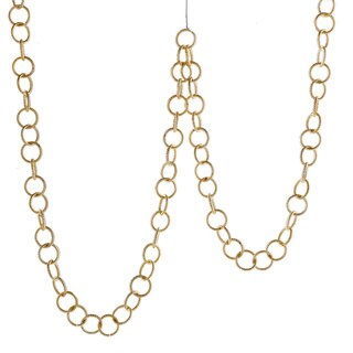 Sage & Co 6-foot Metal Chain Garland (Pack of 2)