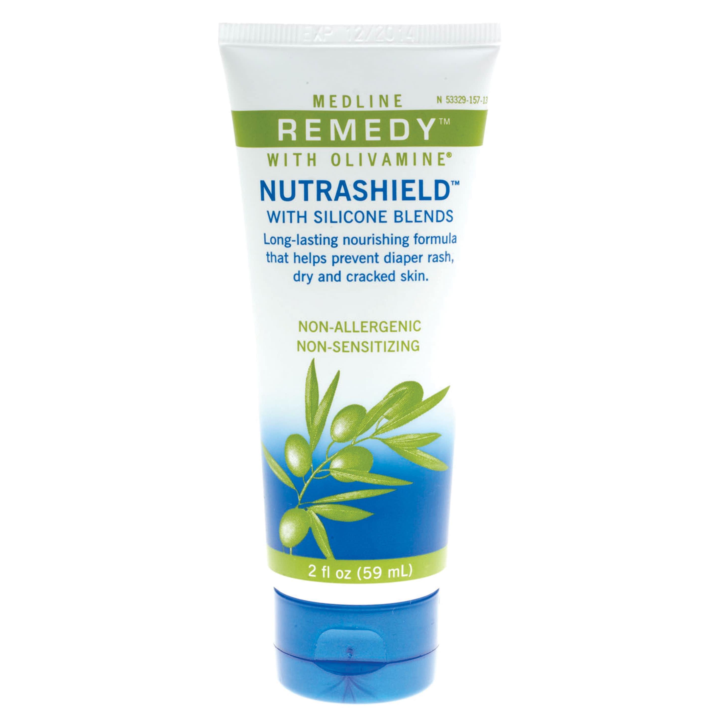 medline Remedy Olivamine Nutrashield Skin Protectant, 2-o...
