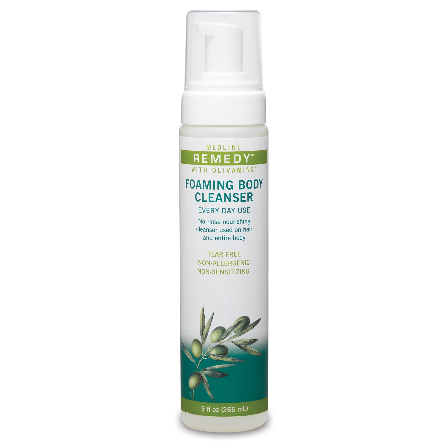 medline Remedy Olivamine 9-ounce Foaming Body Cleansers (...