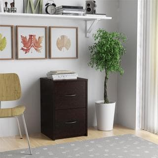 Altra Black Forest 2-drawer File Cabinet
