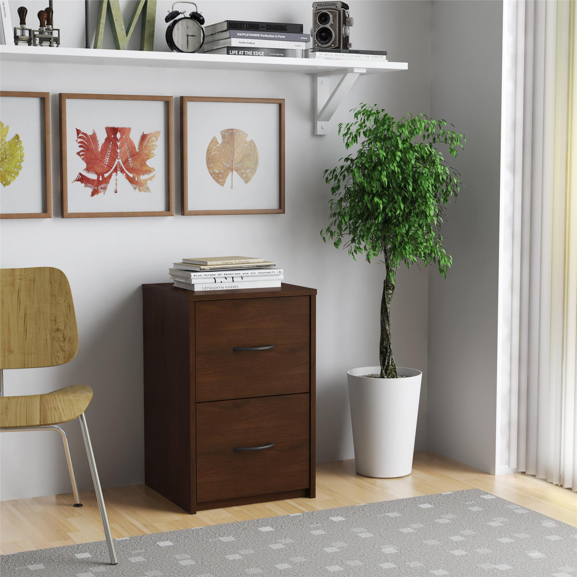 Laurel Creek Martha Cherry 2 Drawer File Cabinet
