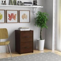 Laurel Creek Martha Cherry 2-drawer File Cabinet