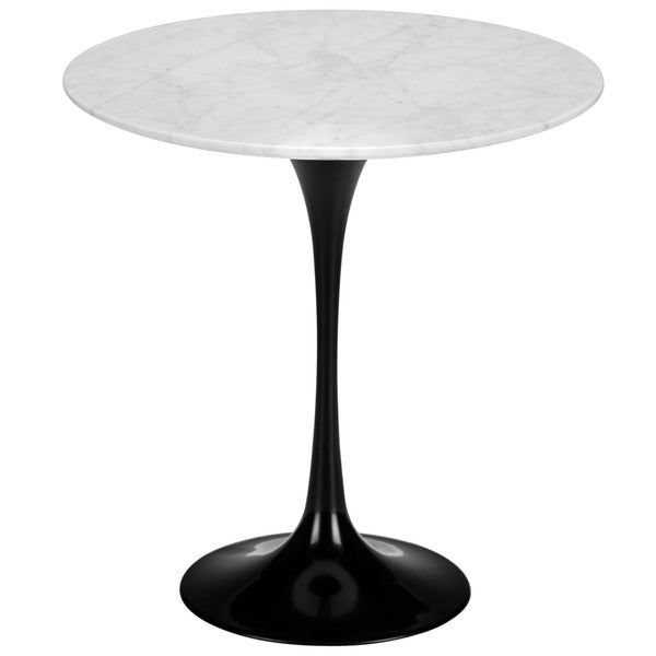 Poly And Bark Eero Saarinen Tulip Style Marble Side Table   Free Shipping  Today   Overstock.com   16832027