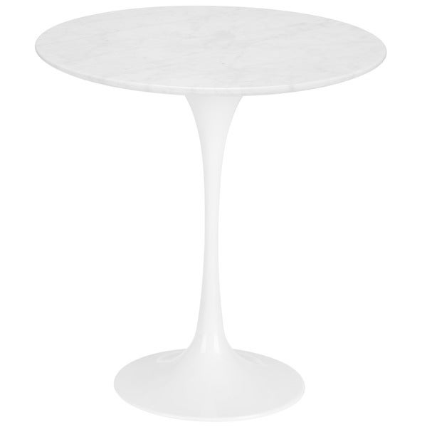 Poly and Bark Daisy 20 inch Marble Side Table