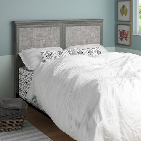 Ameriwood Home Stone River Full/ Queen Headboard with Fabric Inserts