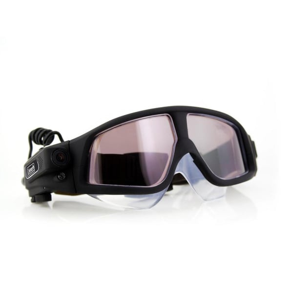 Coleman VisionHD 1080p HD Swimming Goggles with Built-in Video Camera. Opens flyout.