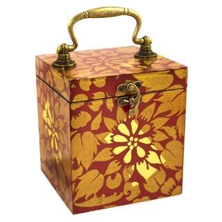 Handmade Wood 'Lady Of Lanna' Jewelry Box (Thailand)