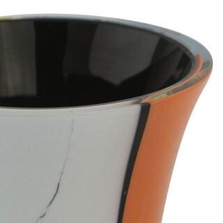 Handmade 'Millennial Colors' Blown Glass Vase (Brazil)