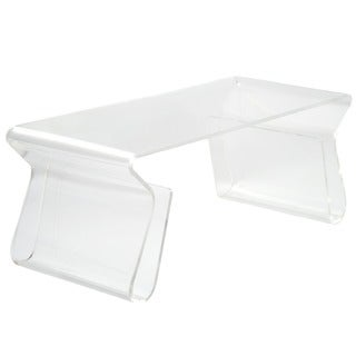 Shop Adair Acrylic Coffee Table - Free Shipping Today - Overstock - 2929530