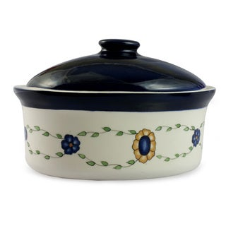 Handmade Ceramic 'Margarita' Serving Dish (Guatemala)