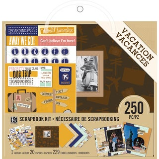 "Scrapbook Kit 8""X8""-Vacation"