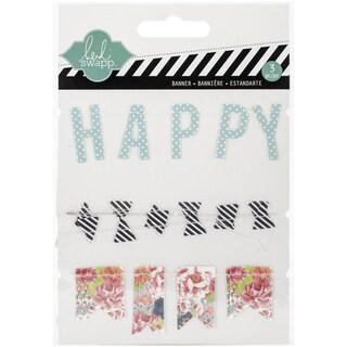 September Skies Stitched Cardstock Banners 3/Pkg