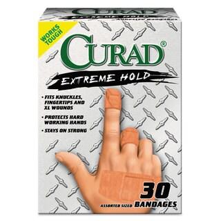 Extreme Hold Bandages Assorted Sizes 30-Piece