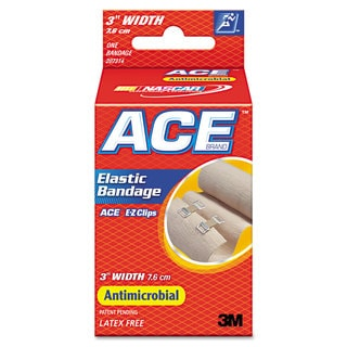 Ace 3-inch Elastic Bandage with E-Z Clips