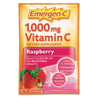 Emergen-C? Immune Defense Raspberry Flavored Drink Mix 0.3-ounce Packets (Pack of 50)