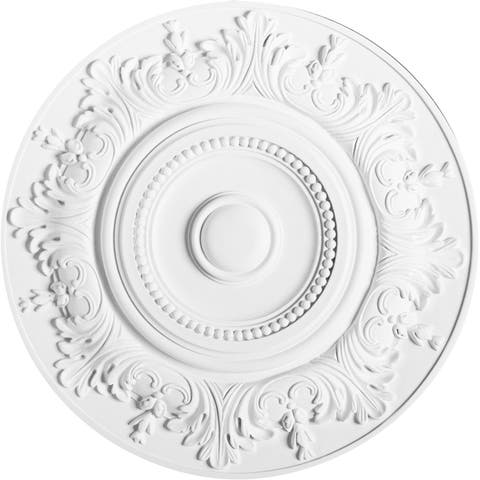 18-inch Decorative Round Ceiling Medallion