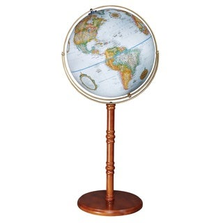 Edinburgh II Floor World Globe