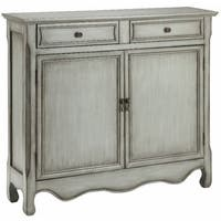 Claridon Vintage Cream and Grey Cabinet