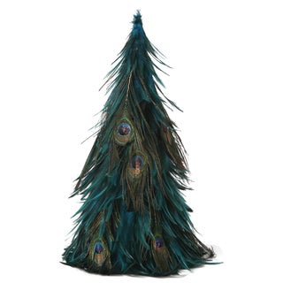 Hackle Peacock Christmas Tree
