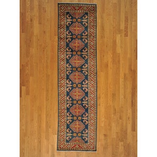 Runner Kazakh Handmade Oriental Wool Area Rug (2'8 x 10'3)