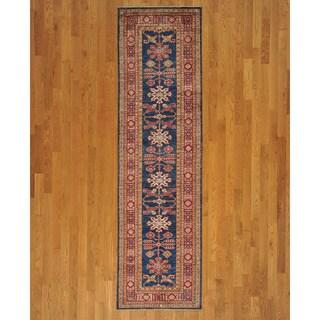 Runner Tribal Design Super Kazakh Oriental Handmade Area Rug (2'8 x 9'6)