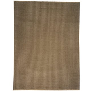 Hand-woven Flat Weave Oriental Wool Rug (9' x 12')