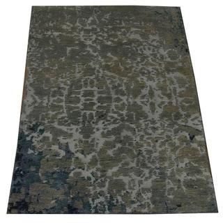 Hand-knotted Modern Nepali Oriental Wool Rug (2' x 2'10)
