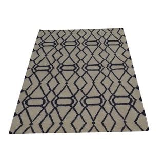 Flat Weave Reversible Durie Kilim Oriental Wool Rug (3' x 5'2)