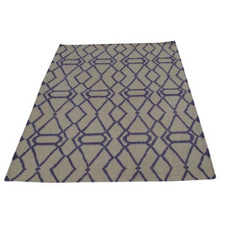 Hand-woven Durie Kilim Flat Weave Oriental Wool Rug (3'1 x 5'2)