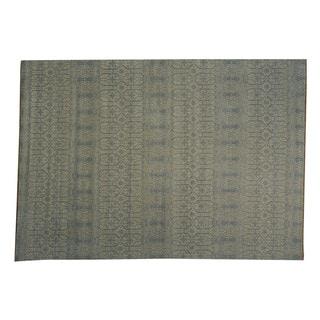 Ikat Design Oriental Wool Rug (9' x 12')