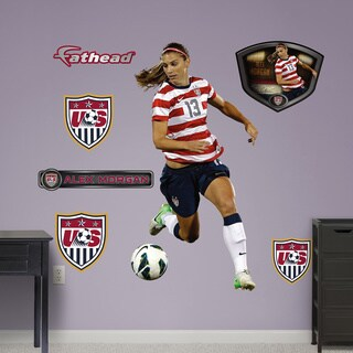 Fathead Alex Morgan Wall Decals