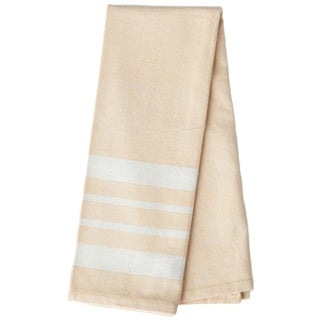Handmade Buttercup Artisan Woven Kitchen Towel (India)