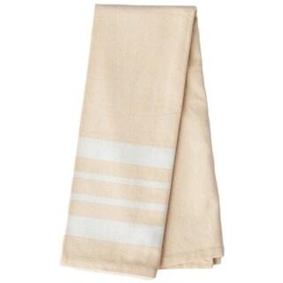 Handmade Buttercup Artisan Woven Kitchen Towel (India)