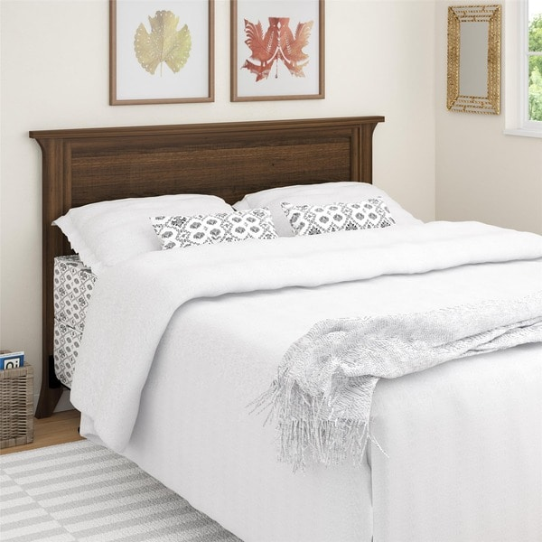 Shop Ameriwood Home Oakridge Full Queen Headboard Free Shipping - Oakridge bedroom furniture