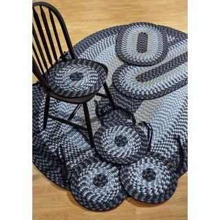 Alpine Navy 7-piece Rug/ Chair Pad Set by Better Trends