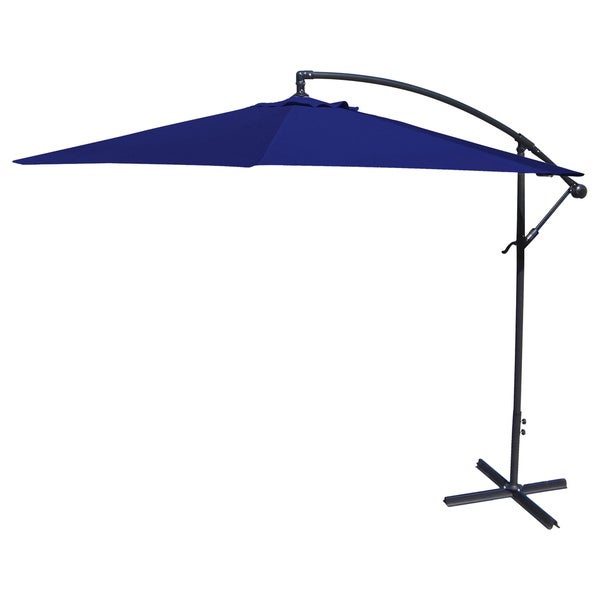 Shop Jordan Manufacturing Steel 10 Foot Offset Umbrella Free