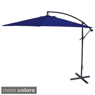 Jordan Manufacturing Steel 10-foot Offset Umbrella