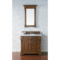 "Brookfield 36"" Single Cabinet w/ Drawers, Country Oak"