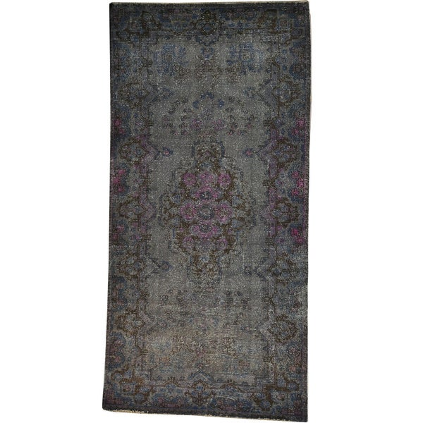Hand-knotted Overdyed Persian Tabriz Oriental Rug (5u0026#39; x 10u0026#39;) - Free Shipping Today - Overstock ...