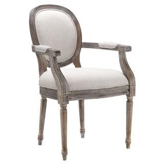 Socorro Caitlin Flax Fabric Occasional Chair
