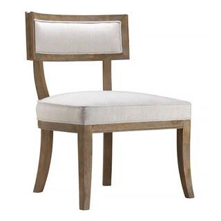 Izu Caitlin Flax Fabric Occasional Chair