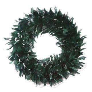 Goose Coque Handmade Glitter Wreath