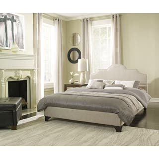 Sleep Sync Honey Brook Taupe Upholstered Platform Bed Complete|https://ak1.ostkcdn.com/images/products/9650913/P16833937.jpg?impolicy=medium