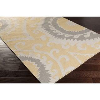 Hand-Woven Sam Reversible Wool Area Rug (8' x 11')