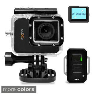 Pyle eXpo Hi-Res Action Cam with Full HD 1080p Video